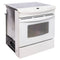 Frigidaire 30' Electric Stove Electric Stove CFES367DS3 White (1)