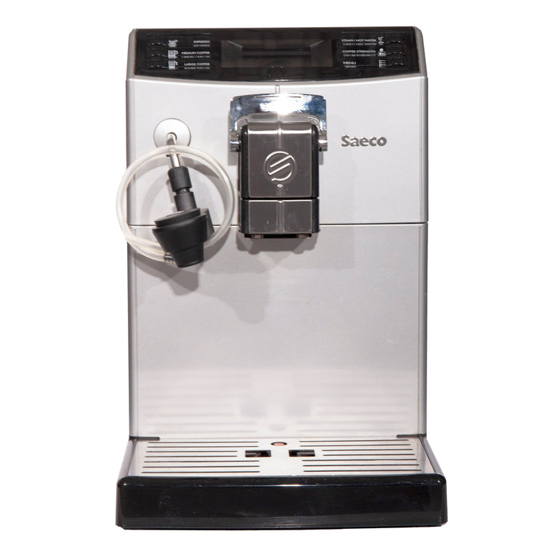 Saeco 8.5'' Super-Automatic Espresso Machine Coffee & Espresso Makers HD8772 Black
