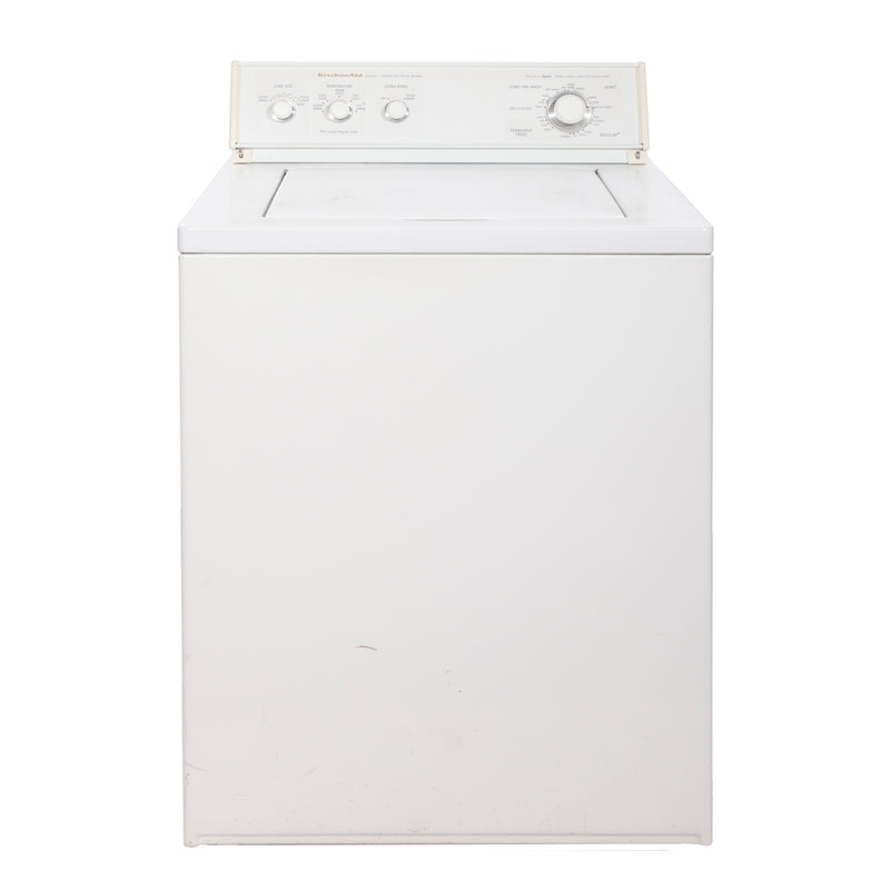 KitchenAid 27' Top Load Washers (Top Load) YKAWE777BW0 White
