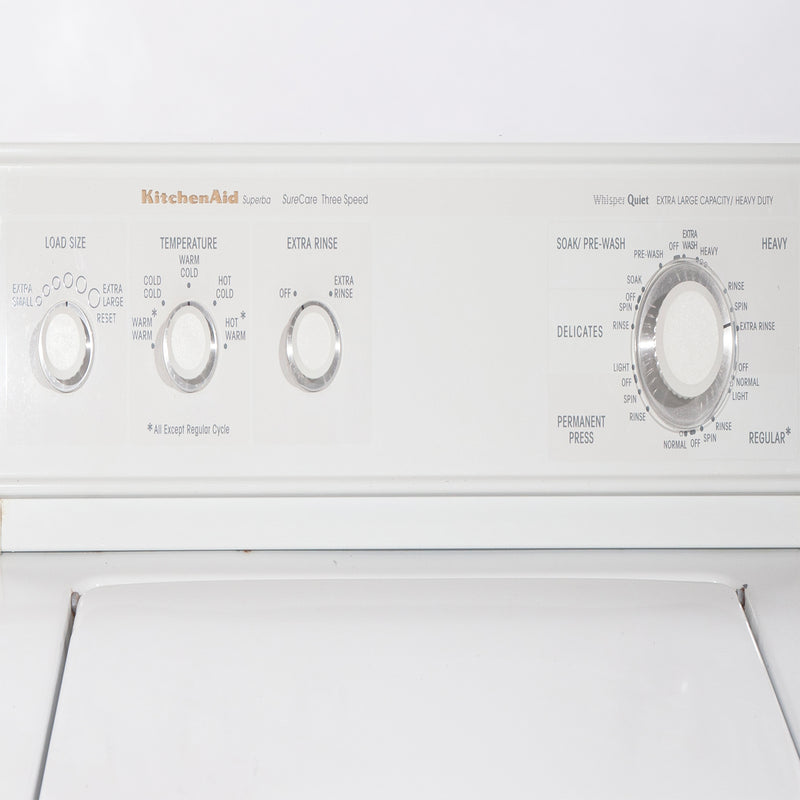 KitchenAid 27' Top Load Washers (Top Load) YKAWE777BW0 White (2)