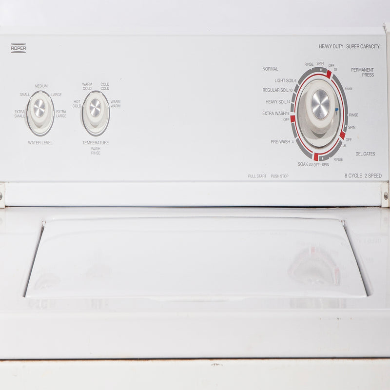 Whirlpool 27' Top Load Washers (Top Load) RAX4232KQ1 White (2)