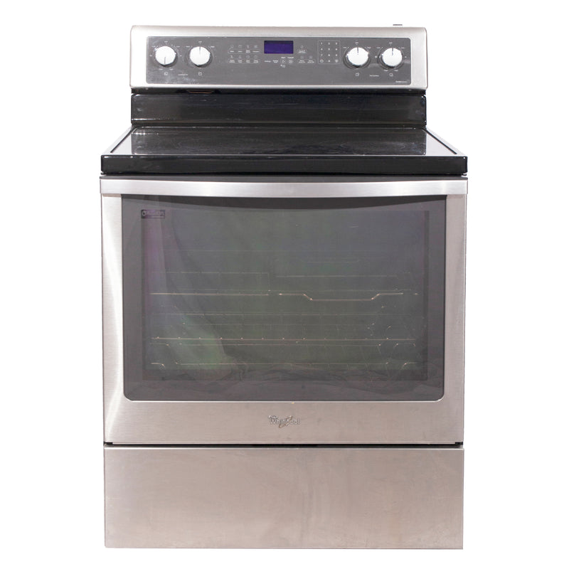 Whirlpool 30'' Freestanding Electric Electric Stove YWFE710H0BS1 Stainless Steel