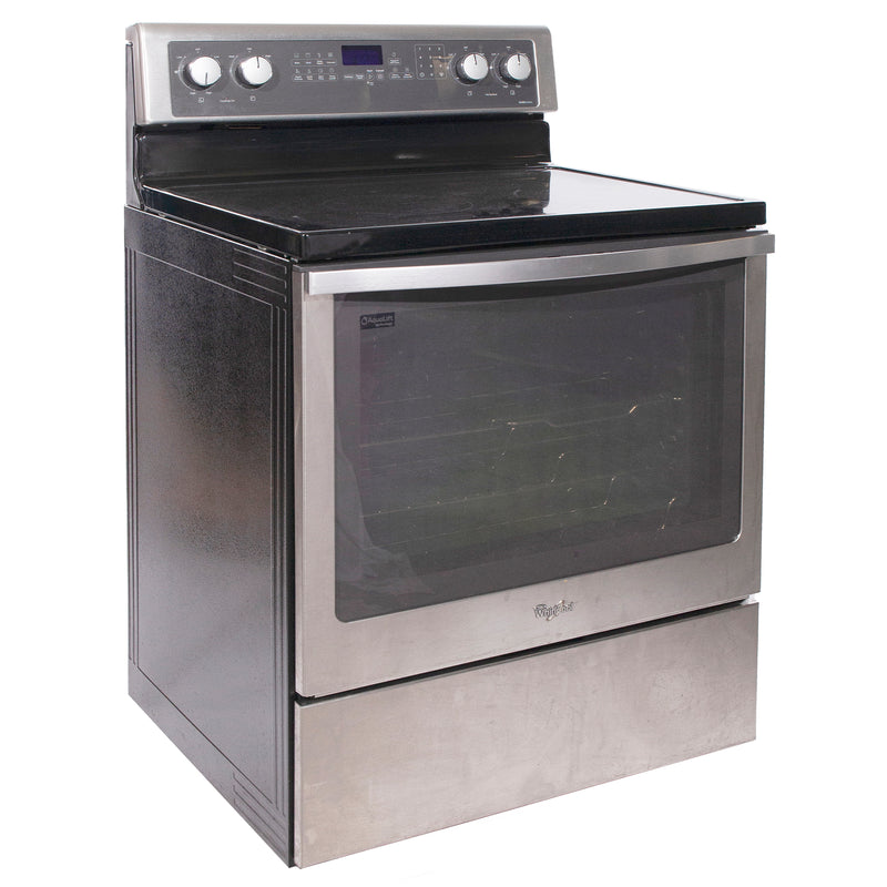 Whirlpool 30'' Freestanding Electric Electric Stove YWFE710H0BS1 Stainless Steel (1)