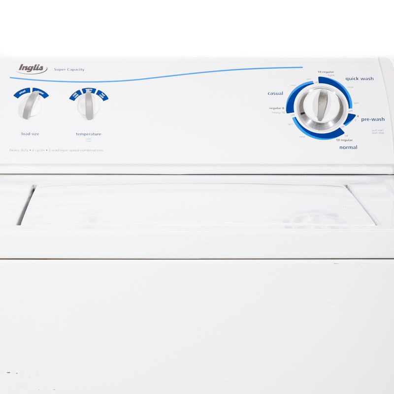 Inglis 27'' Top Load Washers (Top Load) IP42003 White (2)