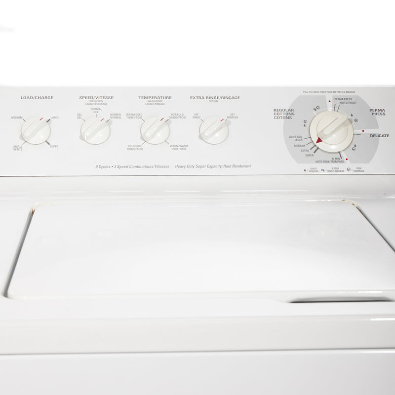 GE 27' Laundry Pair Laundry Pairs PDSR473ET3WW and GWSR3090T6WW white (3)