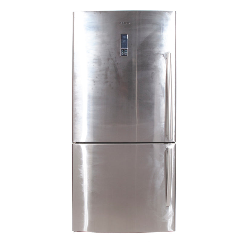 Hisense 31.1'' Bottom Freezer Refrigerators RB17N6ASE Stainless Steel