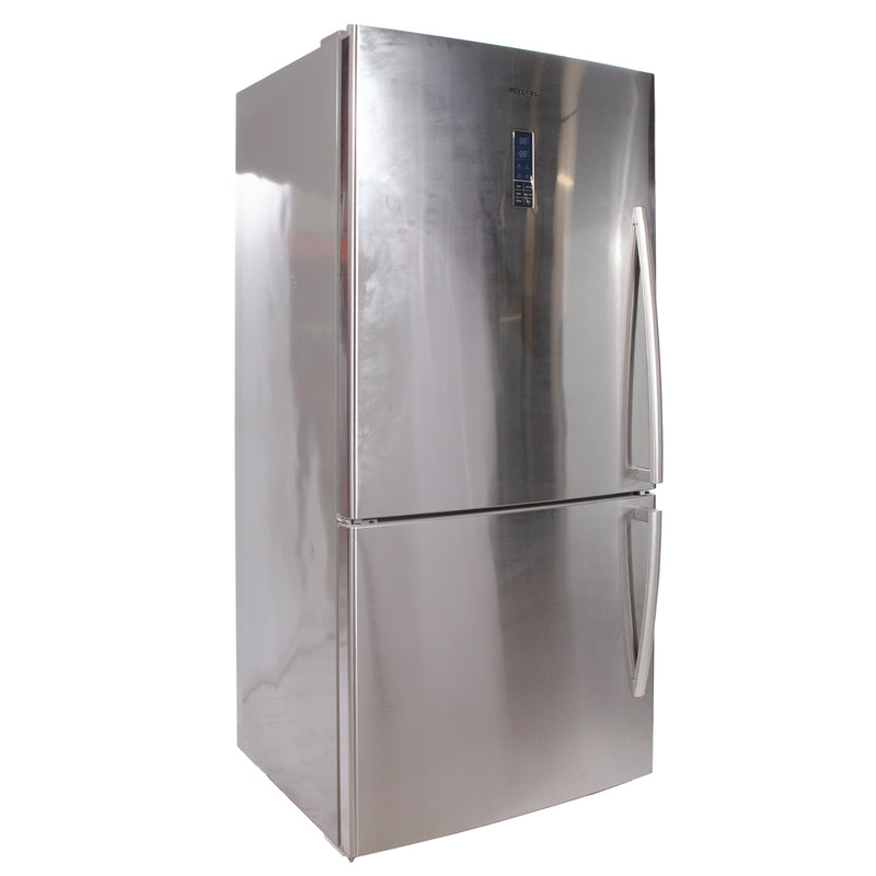 Hisense 31.1'' Bottom Freezer Refrigerators RB17N6ASE Stainless Steel (1)