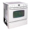 Maytag 30'' Slide In Electric Electric Stove MES5875BCW White (1)