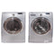 Samsung 27'' Front Load Stackable Laundry Pairs WF340ANG/XAC 05 and DV350AEG/XAC 04 Grey