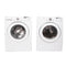 LG 27'' Stackable Laundry Pair Stackable Laundry Pairs WM2077CW and DLE3777W White