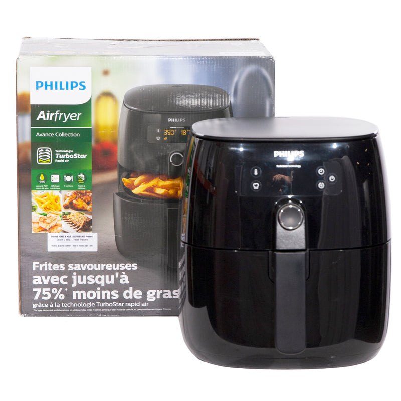 Phillips 10.5'' Air fryer Specialty Small Appliances HD9641 Black