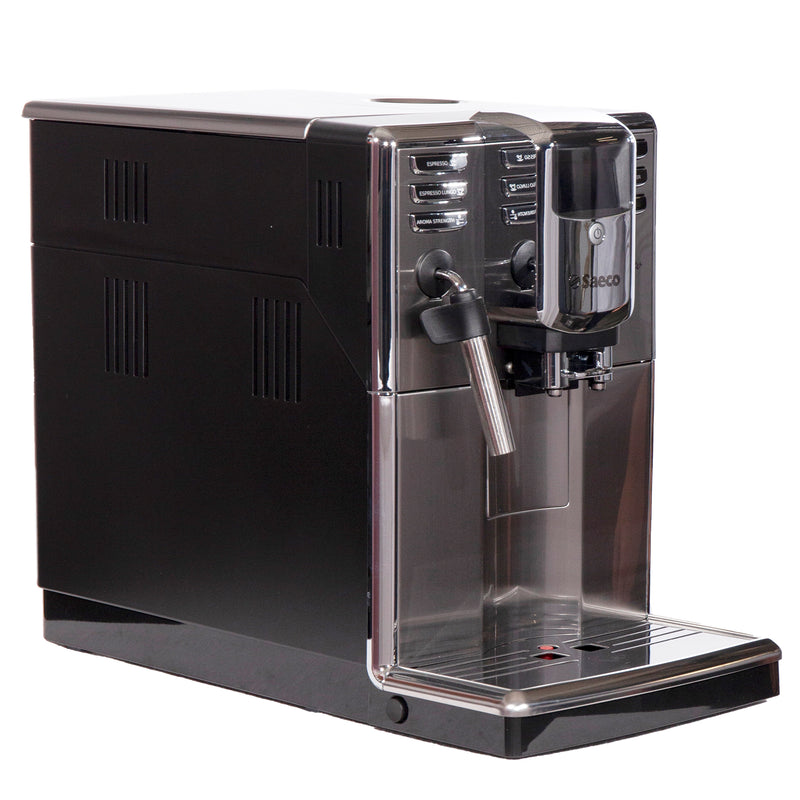 Saeco 8.5'' Super-Automatic Espresso Machine Coffee & Espresso Makers HD8911/67 Stainless Steel (2)