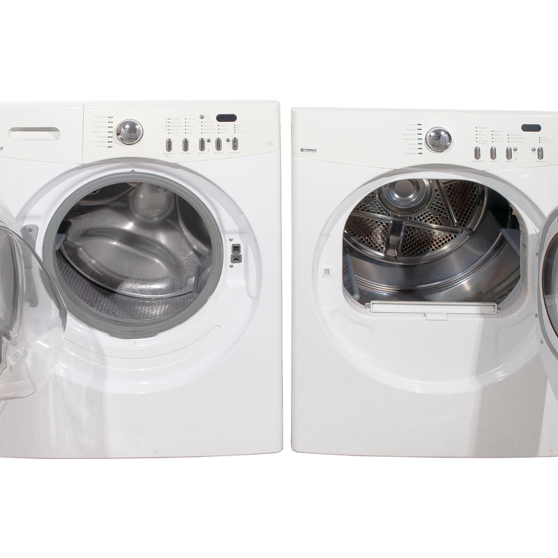 Kenmore 27'' Front Load Stackable Laundry Pairs 970-C88992-00 and ATF6000FS0 White (3)