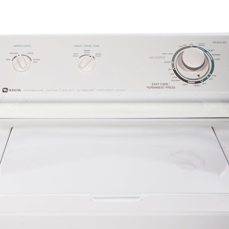 Maytag 25.5' Top Load Washers (Top Load) LAT8206AAE White (2)