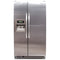KitchenAid 36'' Side by Side Refrigerators KSRG25FVMS02 Stainless Steel