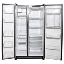 Jenn-Air 35'' Counter-Depth Side-by-Side Refrigerators JCB2285HES Stainless Steel (2)