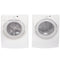 Whirlpool 27'' Front Load Stackable Laundry Pairs GHW9300PW0 and YGEW9200LW1 White