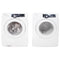 Samsung 27'' Front Load Stackable Laundry Pairs WF210ANW/XAC 02 and DV210AEW/XAC White