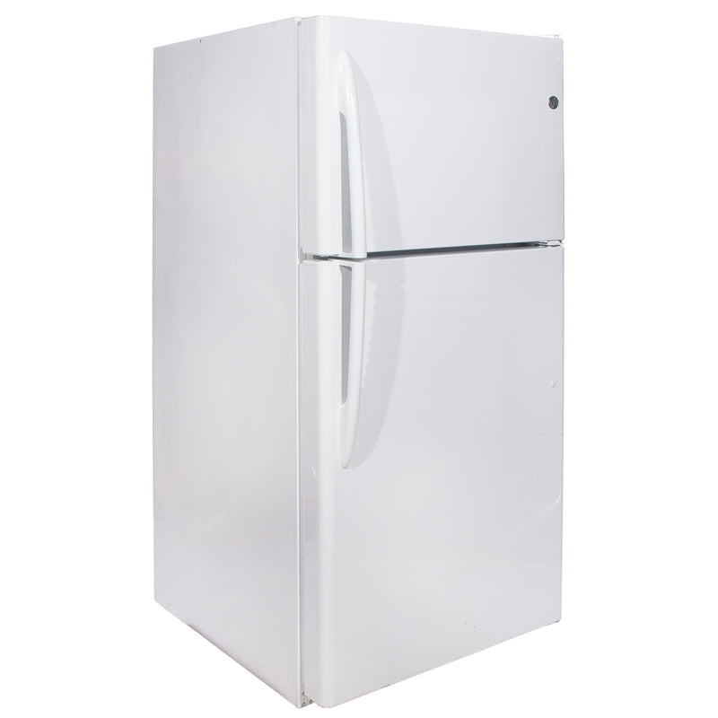 GE 28'' Top Mount Refrigerators GTRC0KBZARWW White (1)