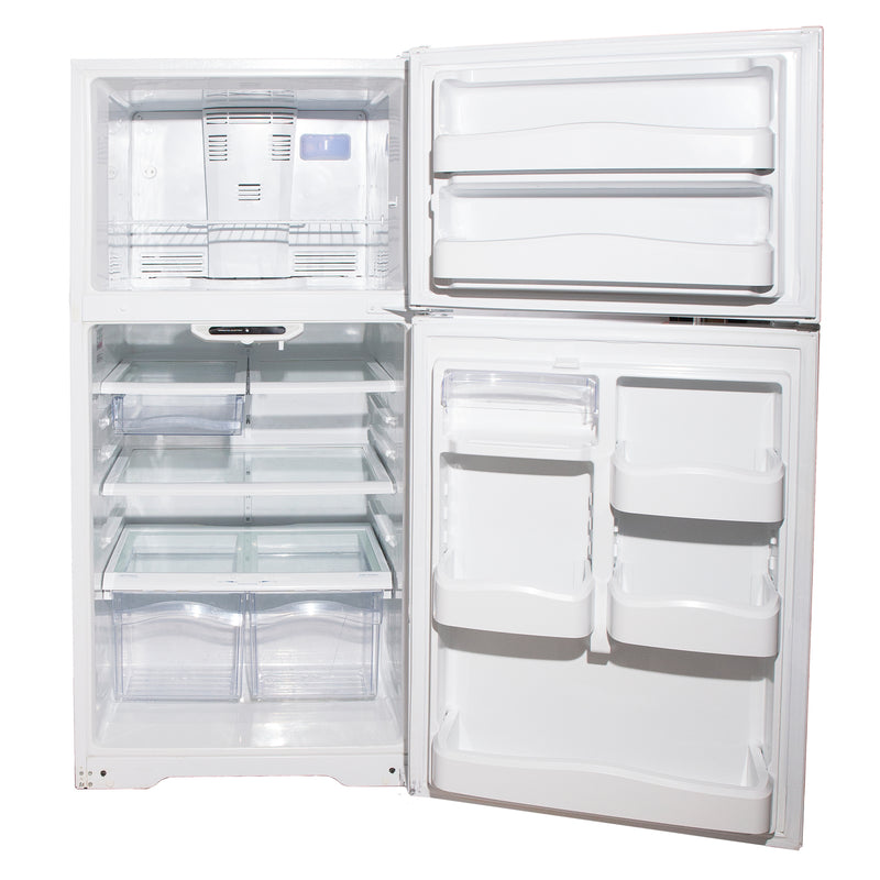 GE 28'' Top Mount Refrigerators GTRC0KBZARWW White (3)