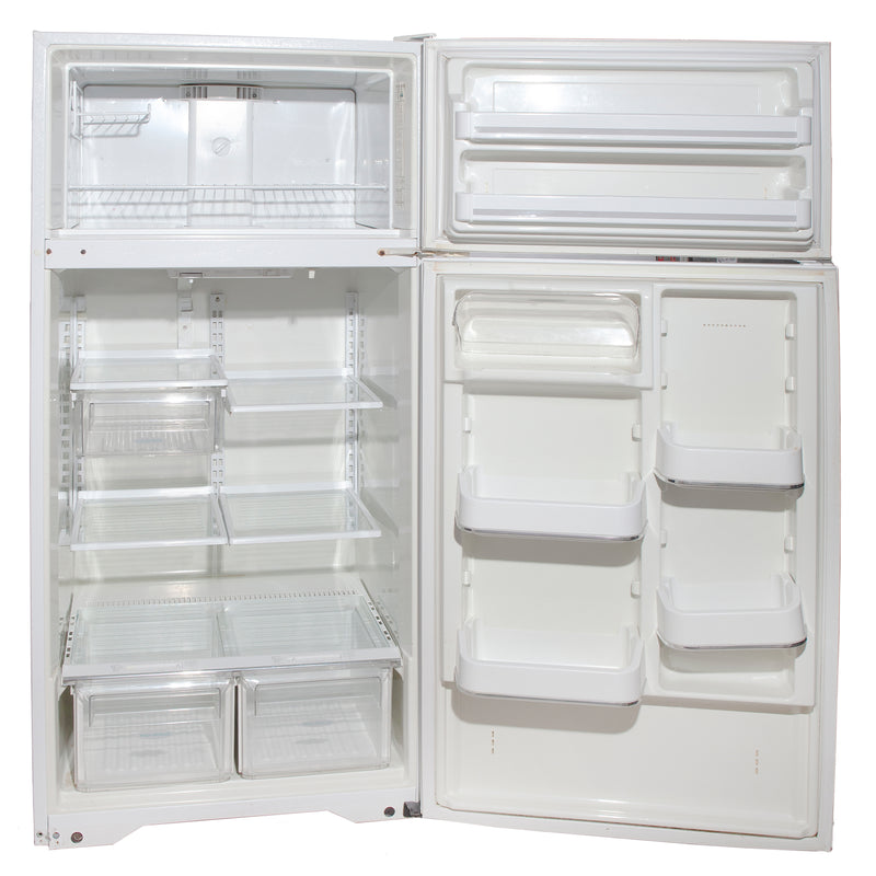 Frigidaire 28.5'' Top Freezer Refrigerators FRT18QGF White (2)