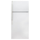 GE 28'' Top Mount Refrigerators GTS18EBMFRWW White