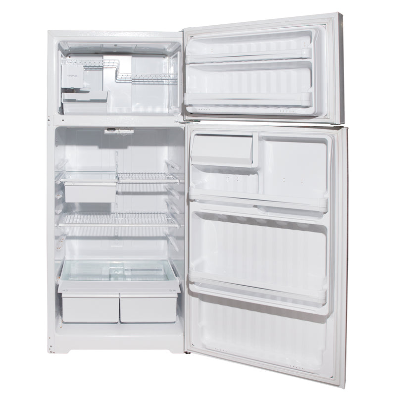 GE 28'' Top Mount Refrigerators GTS18EBMFRWW White (3)