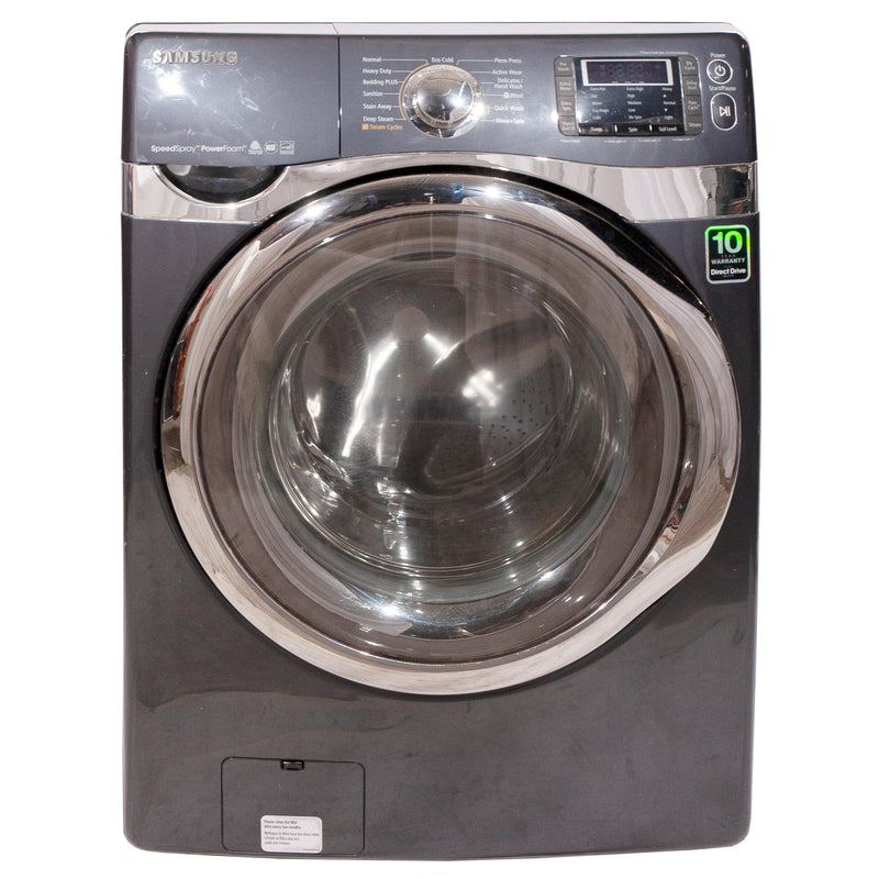 Samsung 27' Steam VRT Washers (Front Load) WF455ARGSGR/AA Grey