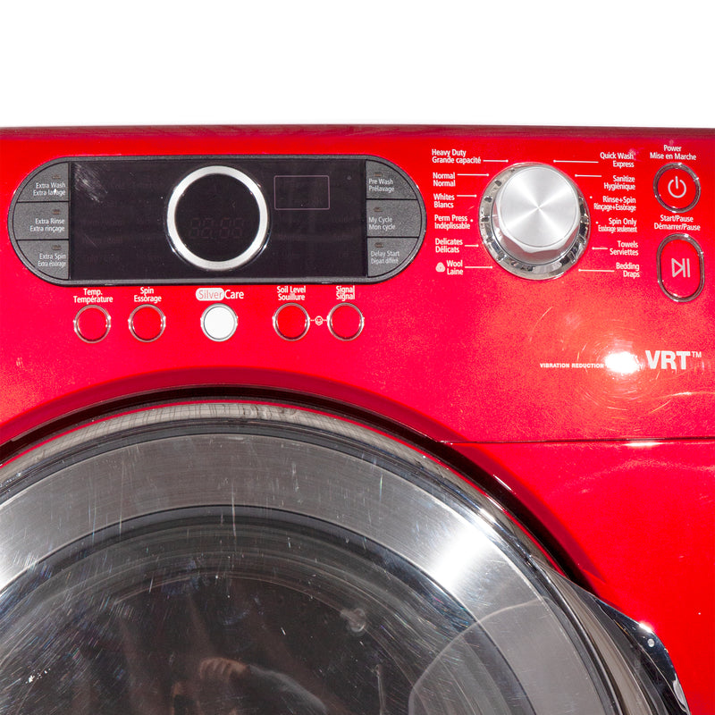 Samsung 27'' Front Load Washers (Front Load) WF337AAR/XAC Red (2)