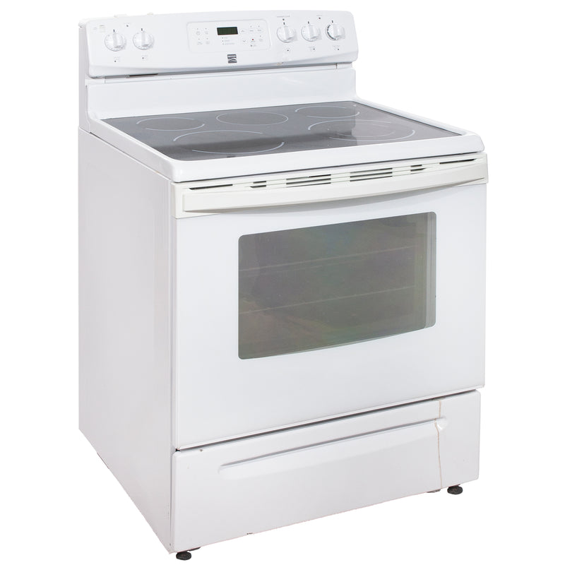 Kenmore 30' Electric Stove Electric Stove 970C606722 Stainless Steel (1)