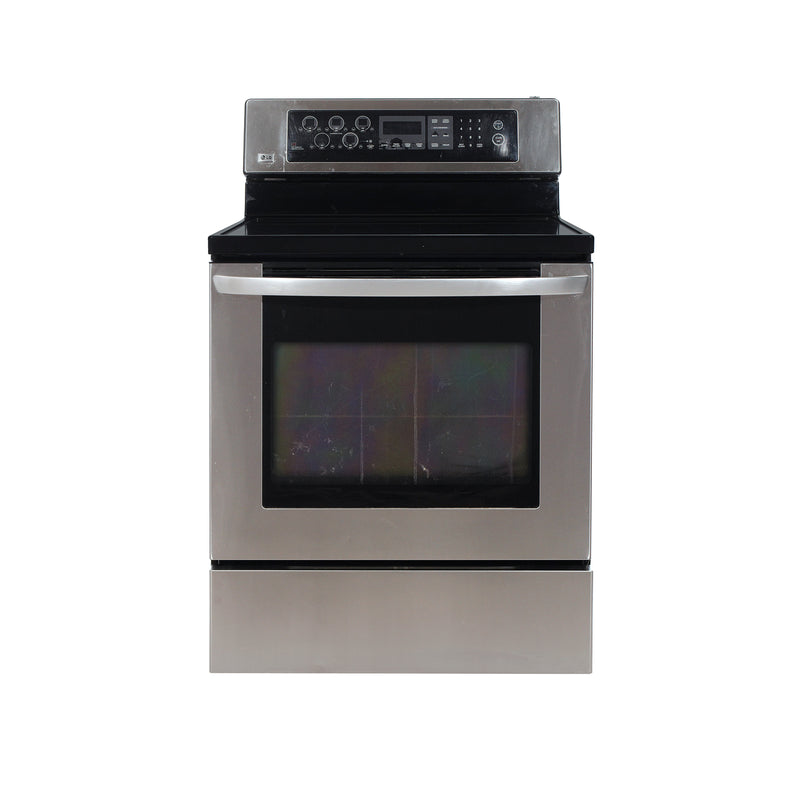 LG 30 Electric Stove LSB5682SS Stainless Steel