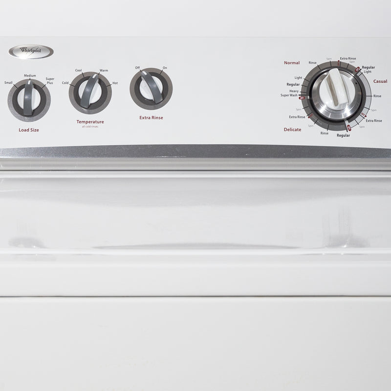 Whirlpool 27'' Top Load Washers (Top Load) WTW5200VQ1 White (2)