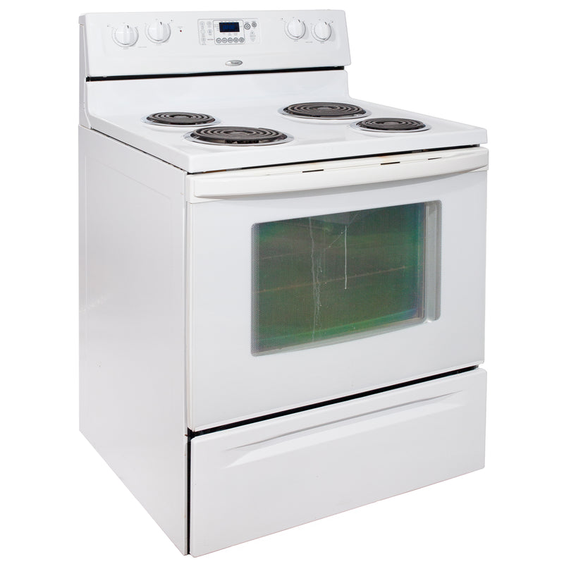 Whirlpool 30'' Electric Stove Electric Stove WERP3101SQ1 White (1)