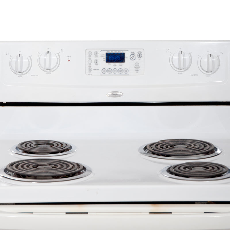 Whirlpool 30'' Electric Stove Electric Stove WERP3101SQ1 White (3)