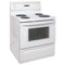 GE 30'' Electric Stove Electric Stove GRCL3700ZWW-1 White (1)