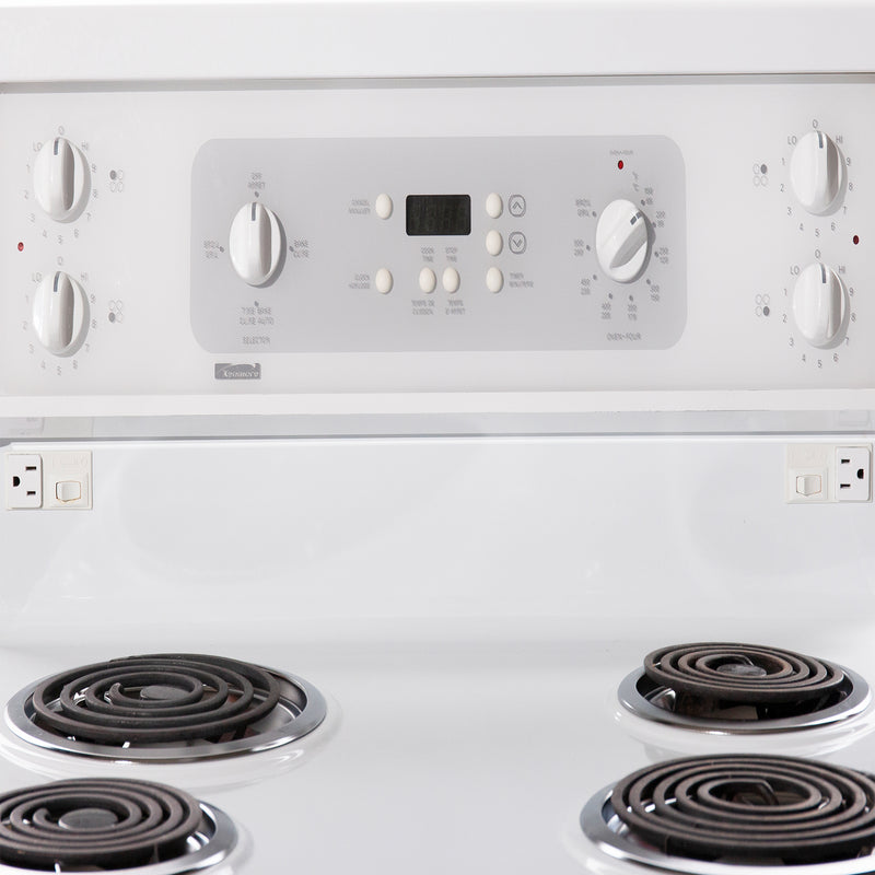 Kenmore 30 Electric Stove C968-63173-1 White (3)