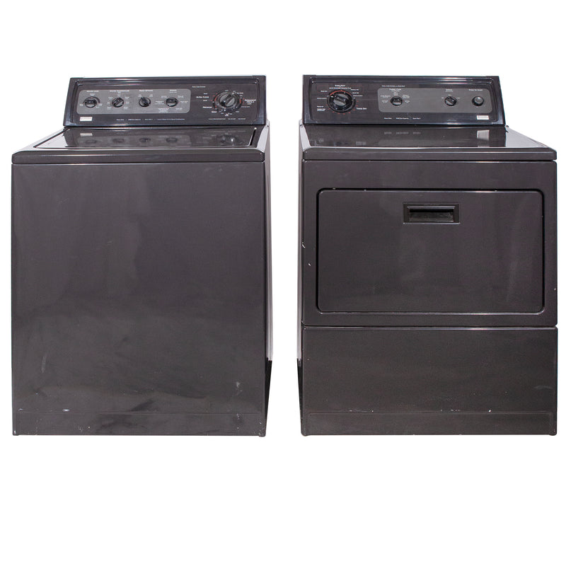 Kenmore 27' Laundry Pair Laundry Pairs 110.66095699 and 110.20956992 Dark Grey