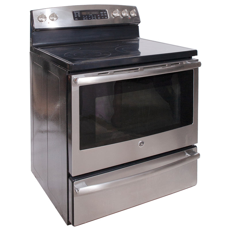 GE 29.875' Electric Stove Electric Stove JCB830SF1SS Stainless Steel (1)