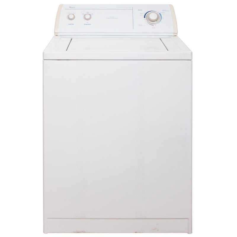 Whirlpool 27'' Top Load Washers (Top Load) LSR6232JQ1 White