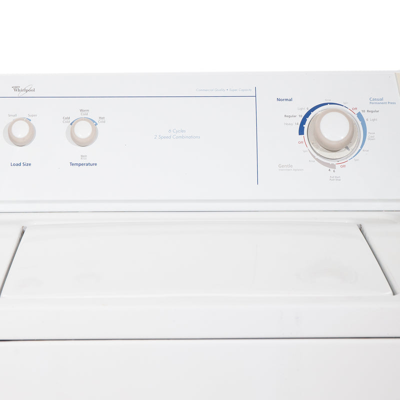 Whirlpool 27'' Top Load Washers (Top Load) LSR6232JQ1 White (2)