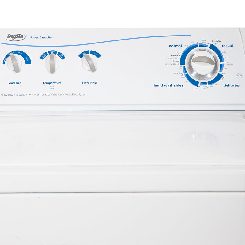 Inglis 27'' Top Load Washers (Top Load) IS44000 White (2)