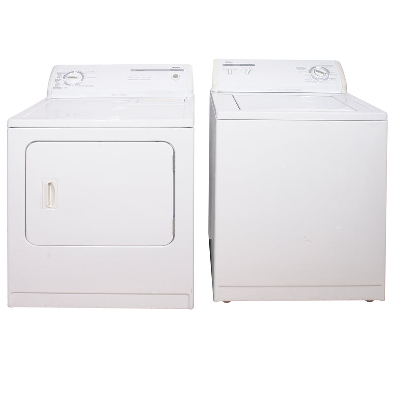 Kenmore 29' and 24' Laundry Pair Laundry Pairs 110.C66492501 and 110.26682502 White