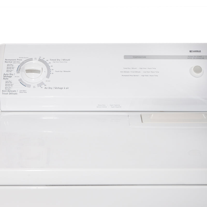 Kenmore 29' and 24' Laundry Pair Laundry Pairs 110.C66492501 and 110.26682502 White (2)