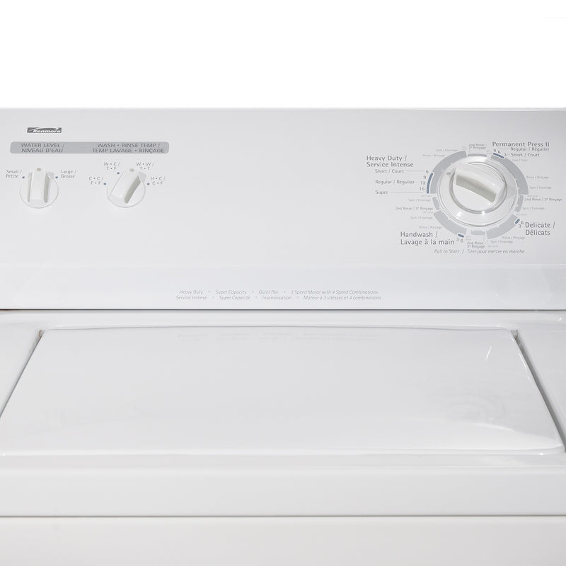 Kenmore 29' and 24' Laundry Pair Laundry Pairs 110.C66492501 and 110.26682502 White (3)