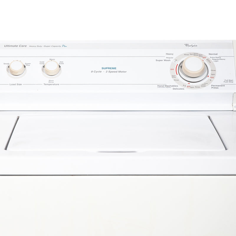Whirlpool 27'' Top Load Washers (Top Load) LSR8200EQ0 White (2)