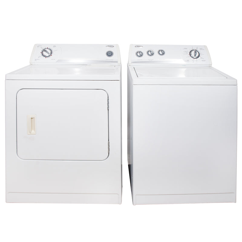 Whirlpool 27'' and 29'' Laundry Pair Laundry Pairs YWED5300SQ0 and WTW5560SQ0 White