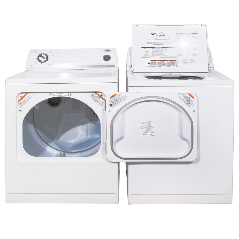 Whirlpool 27'' and 29'' Laundry Pair Laundry Pairs YWED5300SQ0 and WTW5560SQ0 White (1)
