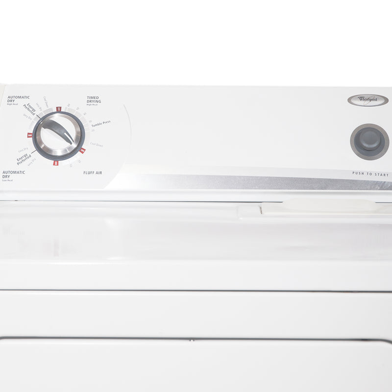 Whirlpool 27'' and 29'' Laundry Pair Laundry Pairs YWED5300SQ0 and WTW5560SQ0 White (3)