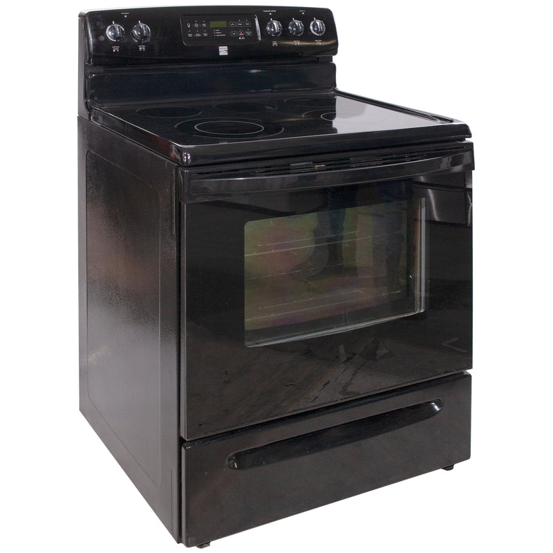 Kenmore 30' Electric Stove Electric Stove 970-686792 Stainless Steel (1)