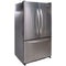 KitchenAid 36' French Doors Bottom Mount Refrigerators KBFS25ETSS01 Stainless Steel (1)